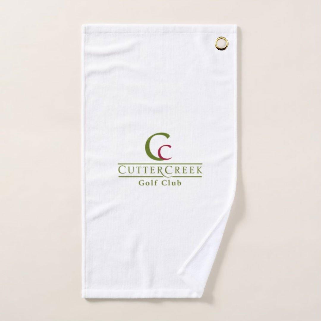 Cutter Creek Sports Towel Sample