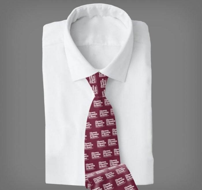 Dewey Cheatem Howe Tie Example