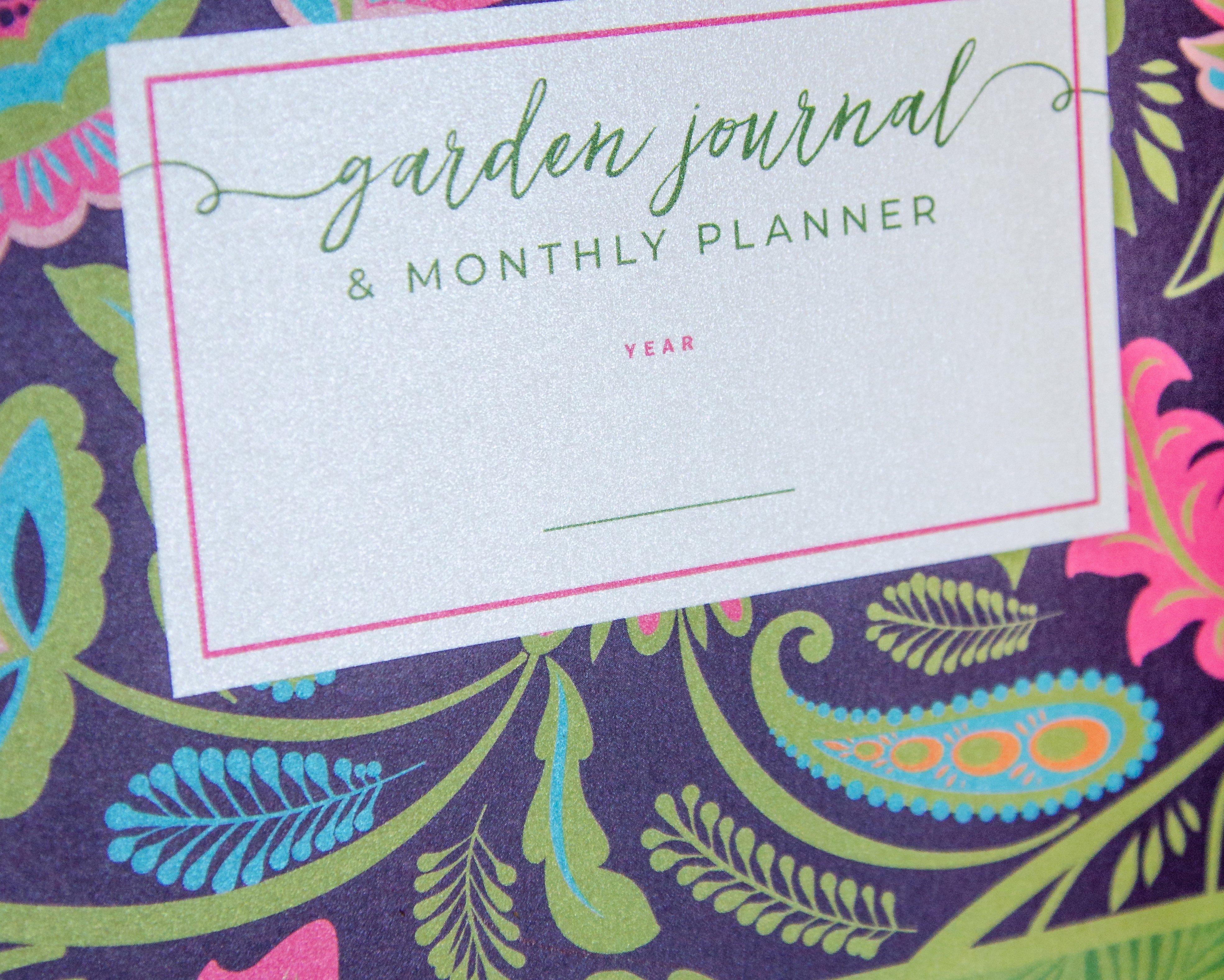 Garden Planner - Front Cover