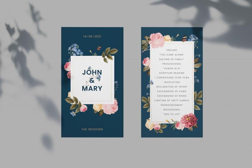 Another Wedding Invitation Sample
