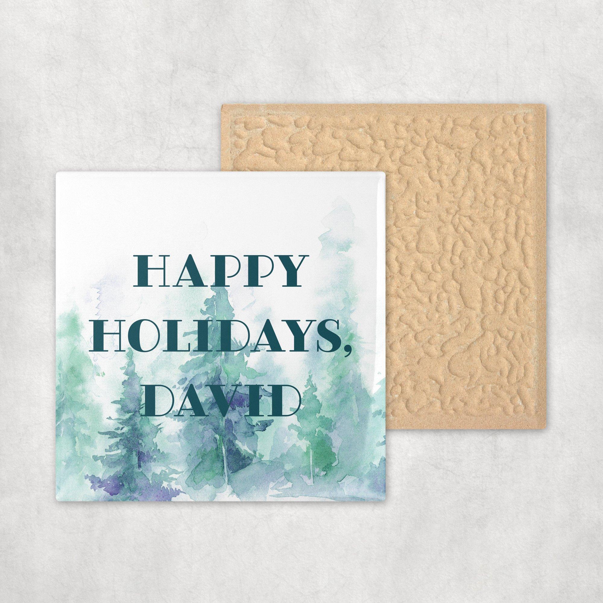 Ceramic Tile Corporate Gift Idea