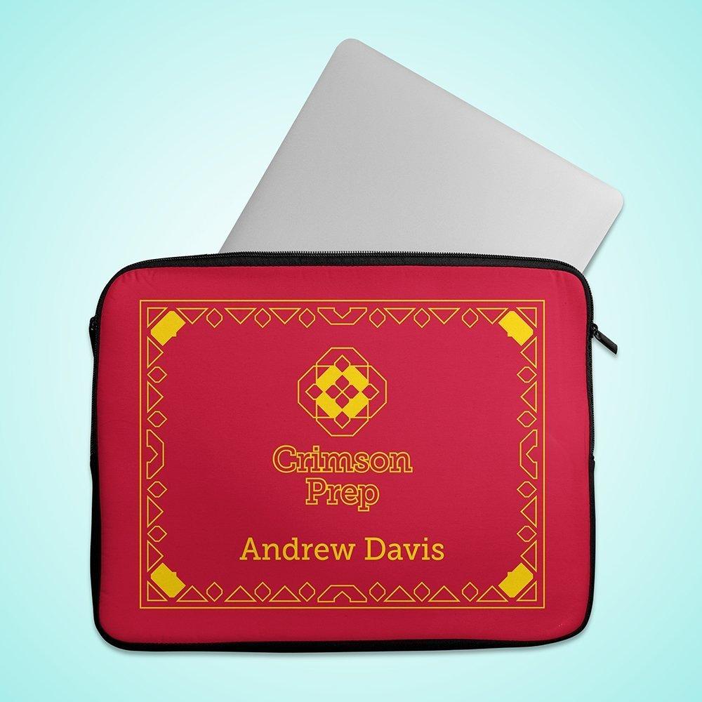 Crimson Prep Laptop Case