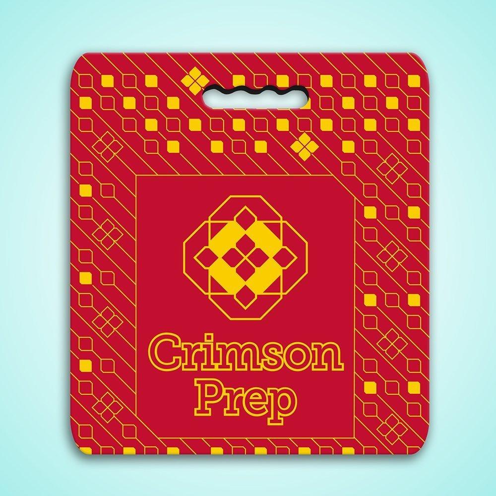 Crimson Prep Seat Cushion
