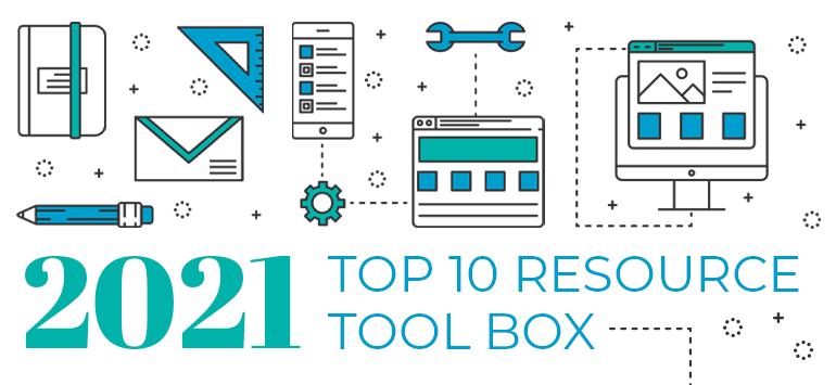 2021 Top 10 Resource ToolBox Hero