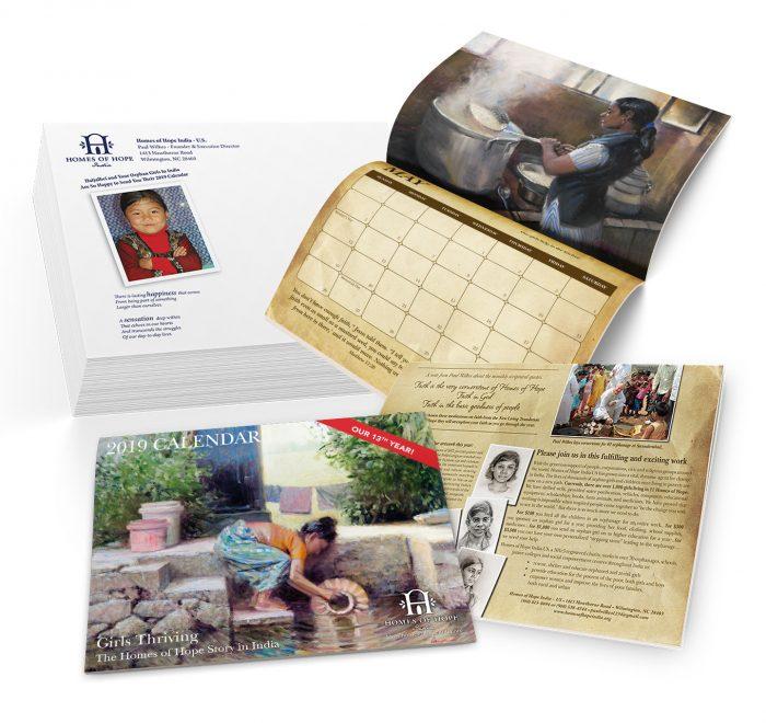 Homes of Hope Calendar